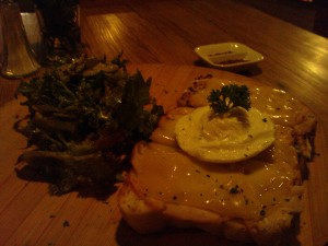 Croque Monsieur (atau Madame?)