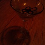 Yummy white choc martini