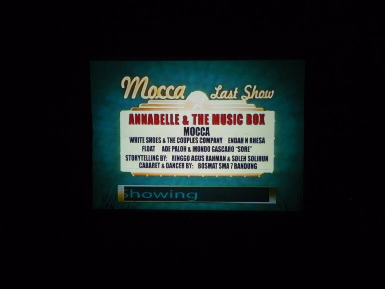 Mocca's Last Show