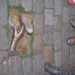 Another interesting exhibit in front of Oude Kerk.