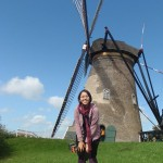 Oh yeah, me, with the windmill, finally.