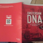 Your guide book, with a DNA-code sticker behind it.