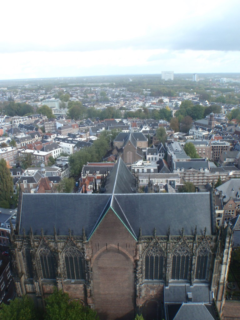 The domkerk, seen from the tower