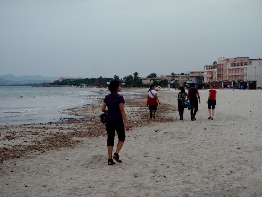 Strolling in the beach..