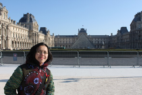 Louvre and me