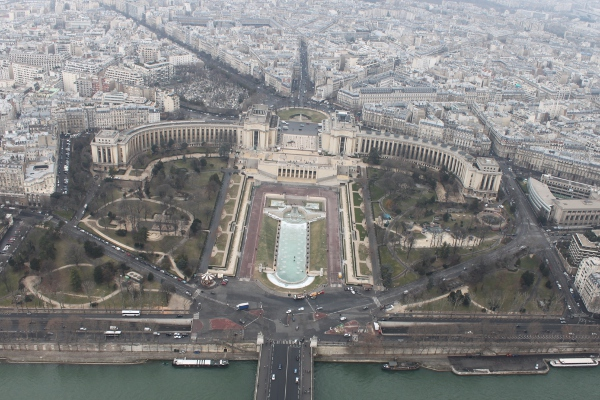 Trocadero from above