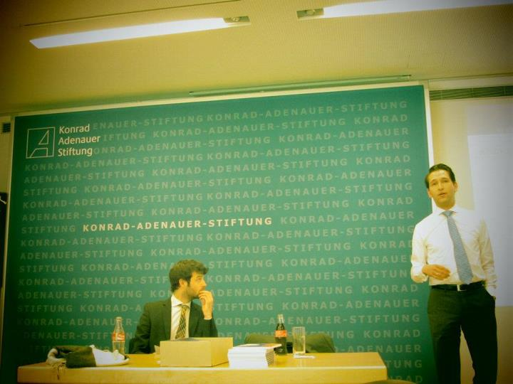 In the Konrad Adenauer Stiftung