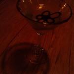 Yummy white choc martini