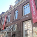 The facade of the Amsterdam History Museum