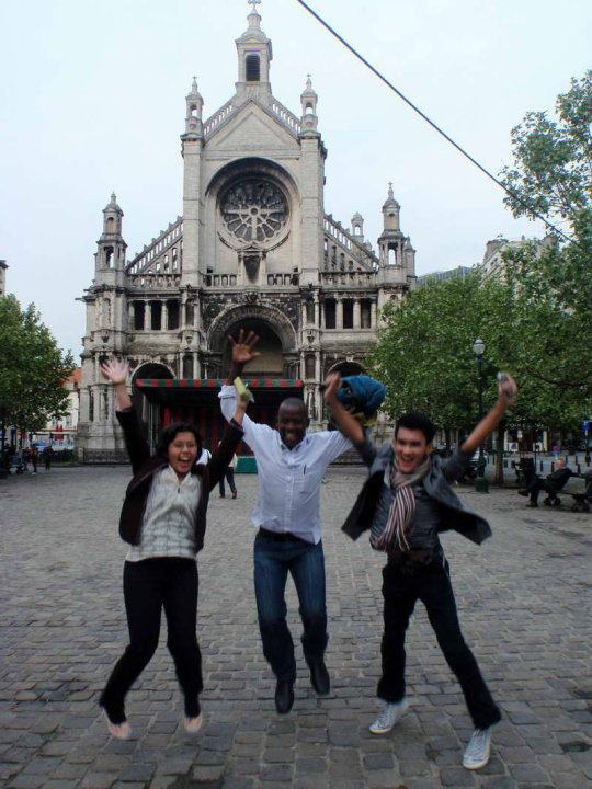 Brussels, two years ago
